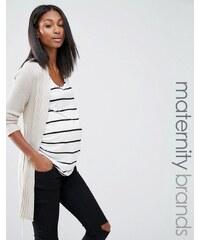 Noppies Maternity Noppies - Mode für Schwangere - Strickjacke - Beige