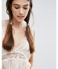 Orelia - Elastique pour cheveux étoile - Doré