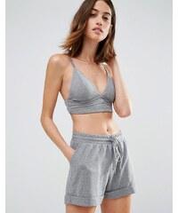 Vero Moda - Bustier aus weichem Jersey - Grau