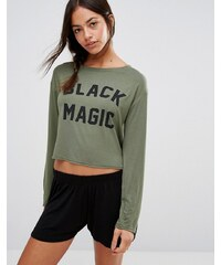 Adolescent Clothing - Halloween Black Magic - Ensemble manches longues - Vert