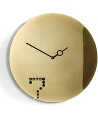 Diamantini&Domeniconi Designové hodiny Diamantini&Domeniconi Seven Gold 40cm