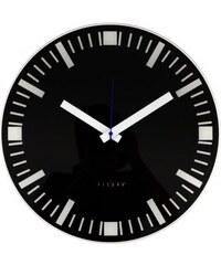 Fisura Fisura nástěnné hodiny Basilea Black 40cm