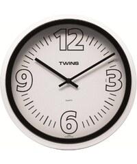 Twins Nástěnné hodiny Twins 2896 black 31cm