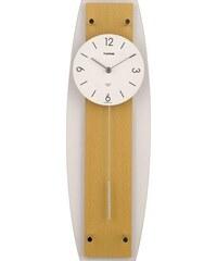 Twins Nástěnné kyvadlové hodiny Twins 9897 natur 50cm