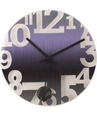 NeXtime Designové nástěnné hodiny 8127pa Nextime Swing 43cm