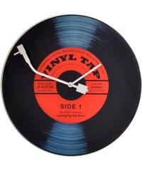 NeXtime Designové nástěnné hodiny 8141 Nextime Vinil Tap 43cm