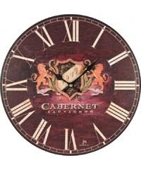 Lowell Italy Designové nástěnné hodiny Lowell 21428 Clocks 34cm