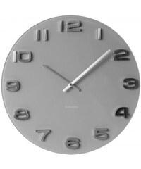 Karlsson Designové nástěnné hodiny 5489GY Karlsson 35cm