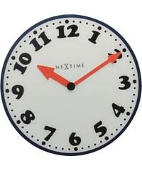 NeXtime Designové nástěnné hodiny 8151 Nextime Boy 43cm