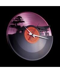 Discoclock Designové nástěnné hodiny Discoclock 043PB Sunset 30cm