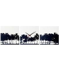 Karlsson Designové nástěnné hodiny 5484 Karlsson Pláž