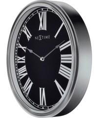 NeXtime Designové nástěnné hodiny 3075 Nextime Houdini 25x35cm