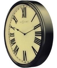 NeXtime Designové nástěnné hodiny 3076 Nextime Houdini 25x35cm