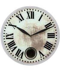 NeXtime Designové nástěnné kyvadlové hodiny 8162 Nextime Romana 43cm