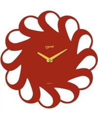 Lowell Italy Designové nástěnné hodiny Lowell 05838R Design 40cm