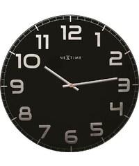 NeXtime Designové nástěnné hodiny 3105zw Nextime Classy Large 50cm