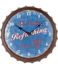 Lowell Italy Designové nástěnné hodiny 21448 Lowell 33cm
