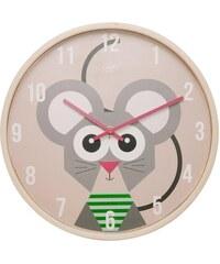 Karlsson Dětské nástěnné hodiny s myškou JIP0902