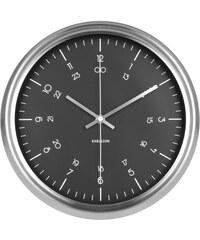 Karlsson Designové nástěnné hodiny KA5597BK Karlsson 30cm