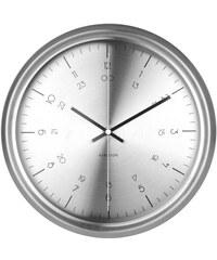 Karlsson Designové nástěnné hodiny KA5597SI Karlsson 30cm
