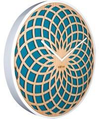 NeXtime Designové nástěnné hodiny 3149tq Nextime Sun Big 50cm