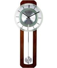 NeXtime Designové nástěnné hodiny řízené signálem DCF 3143 Nextime Retro Pendulum Round 80 cm