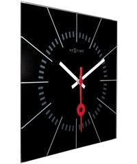 NeXtime Designové nástěnné hodiny 8636zw Nextime Stazione 35cm