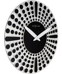 NeXtime Designové nástěnné hodiny 8182zw Nextime Dreamtime 43cm