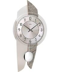AMS Designové nástěnné kyvadlové hodiny 7410 AMS 50cm