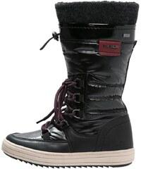 TOM TAILOR Bottes à lacets black