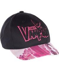 Chica Vampiro Cap schwarz in Größe 52 für Mädchen aus 100% Baumwolle