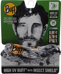 Buff Insect Shield Adults, latitude logo