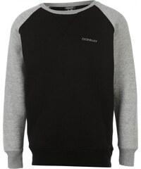 Donnay Raglan Crew Sweater Junior Boys, black/grey m