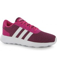Adidas Lite Racer Trainers Child Girls, pink/white