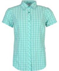 Columbia Plaid Shirt Ladies, mint