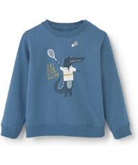 MANGO BABY Baumwoll-Sweatshirt Mit Cartoon
