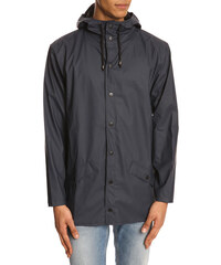 RAINS Blauer Regenmantel Jacket