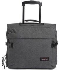 EASTPAK Schwarzer Denim-Koffer mit 2 Rollen Tranverz H 29 L