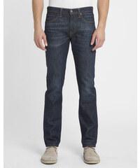 LEVI'S Verwaschene dunkelblaue Slim Jeans 511