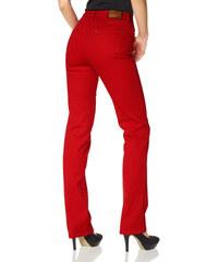 ARIZONA Strečové džíny Anett , Arizona červená - Kratší/delší provedení (K,L)