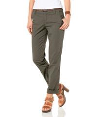 BOYSEN'S Strečové kalhoty, Flashlights khaki - Kratší/delší provedení (K,L)