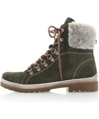 Zelené boty Tamaris 26239