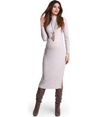 Happymum Béžové těhotenské šaty Davina