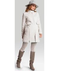 Happymum Světle béžový těhotenský kabát Royal