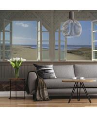 Lesara Fototapete Strandhaus