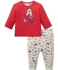 Schiesser Baby-Mädchen Zweiteiliger Schlafanzug Anzug 2-Teilig
