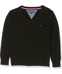Tommy Hilfiger Jungen Pullover Vn Sweater L/s