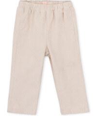 Pantalon Taille Élastique - Écru