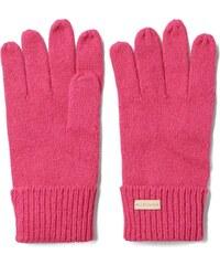 Gants Tricotés Unis - Rich Pink