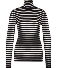 SET Streifen Pullover aus Wolle